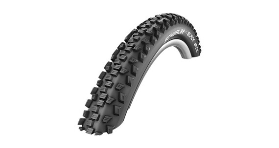 "SCHWALBE Black Jack Bike Tire 18"" K-Guard wire black"